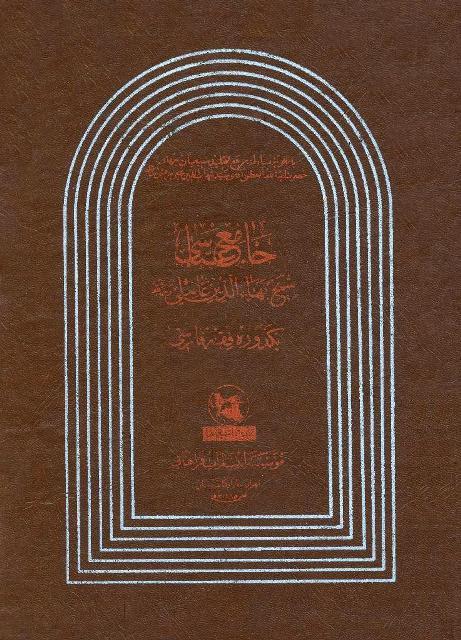 جامع عباسی، یكدوره فقه فارسی